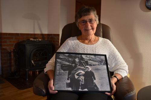 Et minne fra deportasjonen Petra Antona Henningsen fra Smørfjord ble sendt med Carl Arp den 8.november 1944 sammen med 1599 andre Foto Roger Albrigtsen.